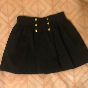 Other - Precious Black and Gold Skirt